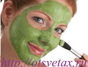 маска из петрушки