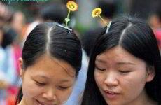 Растения на головах китайцев – безумие или блажь?
