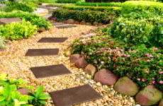 Как затратив мало построить своими руками садовую дорожку