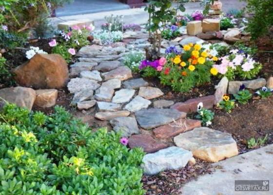 садовые дорожки своими руками с малыми затратами фото видео