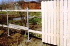 Как сделать забор из дерева на даче своими руками
