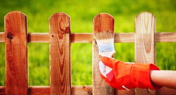 забор из дерева решетка сделать своими руками