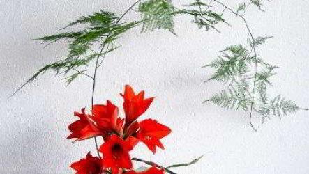 Японская икебана: основные линии Человек, Земля, Небо