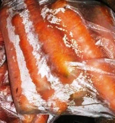хранение моркови на зиму в полиэтиленовых мешках