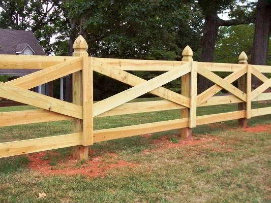 забор из дерева своими руками