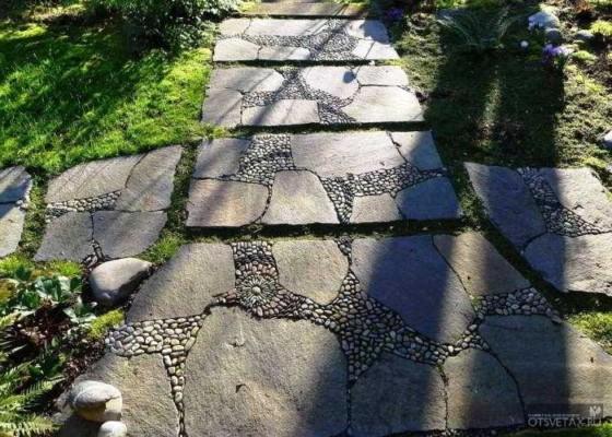 садовые дорожки своими руками с малыми затратами из гравия
