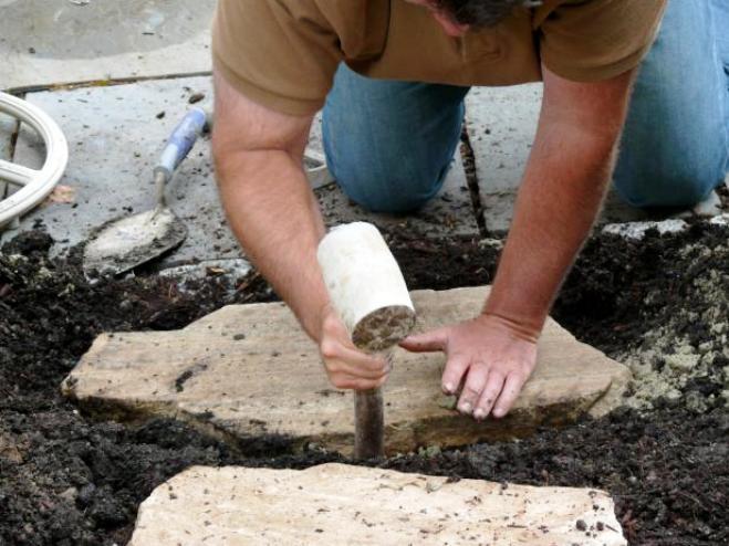 садовые дорожки своими руками с малыми затратами в спб